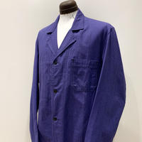 1950's SAVO LE CREUSOT Blue Chambray Atelier Coat