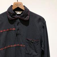 1950's VAN HEUSEN Pullover Rayon L/S Shirt