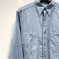 1940's〜 US.NAVY Chambray L/S Shirt