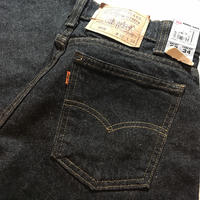 1990's Levi's 550 Black Denim Pants Deadstock