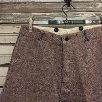 1930〜40's Unknown Tweed Trousers Deadstock