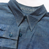 1940's〜 US.NAVY Chambray L/S Shirt Deadstock