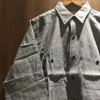 1960's Workmaster Chambray L/S Shirt Deadstock