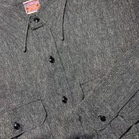 1950's HEAVY DUTY Black Chambray L/S Shirt Deadstock