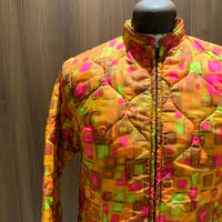 1970's Red Head Quilting Jacket