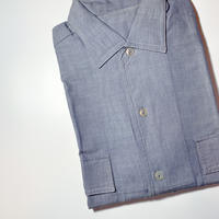 1960's Unknown Chambray S/S Shirt Deadstock