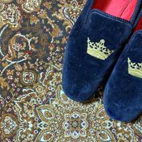 1990's〜 Church Velvet Shoes