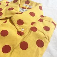 1960's Dunerooke Dots L/S Shirt Deadstock