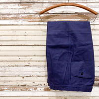 1940's〜 French Unknown Cotton&Linen Trousers Deadstock