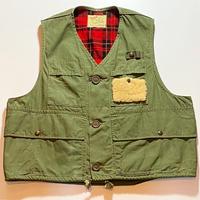 1960's Duxbak Poplin Fishing Vest