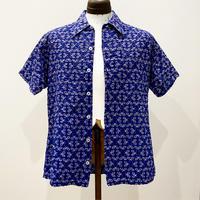 1960's〜 SAKS FIFTH AVENUE Seersucker S/S Shirt