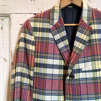 1960's Seeley's Indian Madras Tailored Jacket