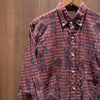 1960's ARROW Batik L/S Shirt
