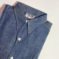 1950's WHIPPET Chambray L/S Shirt Deadstock