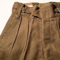 1950's British Army Battledress Wool Trousers Deadstock