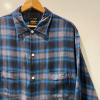 1960's ROYAL DOMAIN Rayon L/S Shirt