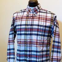 1960's McGREOR Indian Madras L/S Shirt
