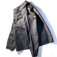 1940〜50's Le Mont-Blanc Black Moleskin Jacket Deadstock