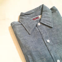 1980's BIG MAC Chambray L/S Shirt Deadstock