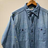 1950〜60's Cash Saver Chambray L/S Shirt