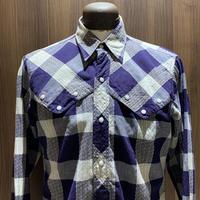 1960's H BAR C Western L/S Shirt