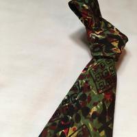 1960's Hager's Cotton Batik Necktie
