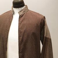 1970's Cole Dots&Border Cotton Blouson
