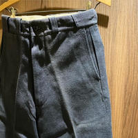 1950's〜 Unknown Whipcord Trousers Black Deadstock