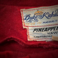 1960's Duke kahanamoku Pineapple Tweed Cotton Jacket