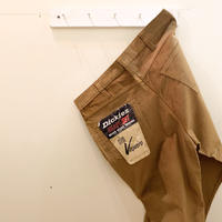 1960's Dickies Corduroy Tapered Pants Deadstock