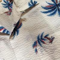 1950's ROYAL PARM Seersucker S/S Shirt
