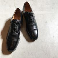 1960's FLORSHEIM Leather Shoes Deadstock