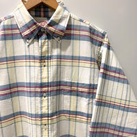 1960〜70's Brooks Brothers Indian Madras L/S Shirt