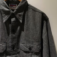 1940's Pioneer Black Chambray L/S Shirt