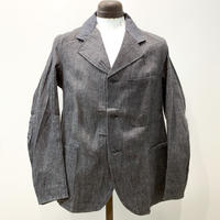1950's British Unknown Black Denim Drivers Jacket