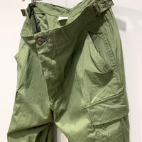 1960's US.ARMY Jungle Fatigue 2nd Trousers Deadstock