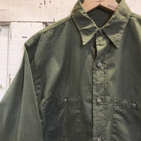1940〜50's US.NAVY N-3 Poplin L/S Shirt