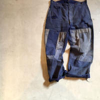 1930〜40's French TSF Moleskin Patchwork Trousers