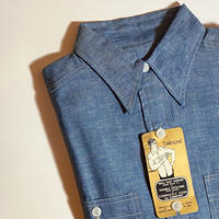 1950's〜 Unknown Chambray L/S Shirt Deadstock