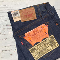 1980's Levi's 501 Denim Pants Deadstock