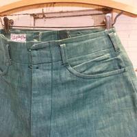 1940's〜 Liberty Pants Shop Green Denim Trousers