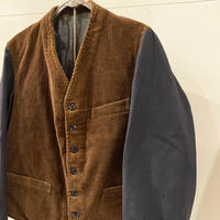 1930's〜 French Unknown Corduroy Jacket