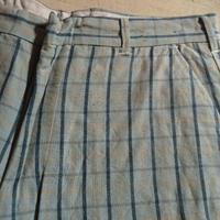1960's Unknown Rayon&Linen Short Pants