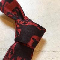 1960's BEAU BRUMMELL Cotton Necktie