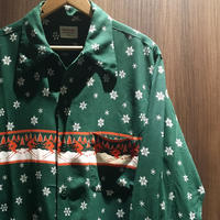 1950's DONEGAL Rayon L/S Shirt