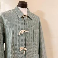 1960's Bulgaria Military Pajama L/S Shirt Deadstock