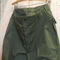1960's Unknown Poplin Utility Trousers Deadstock