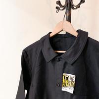 1950's MB FIDELIS Black Moleskin Jacket Deadstock