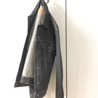 1980's Levi's 70506 Black Denim Jacket