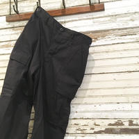 1990's US Military BDU Trousers Black 357 Deadstock